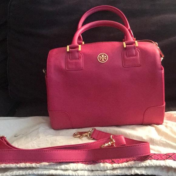 9f247827b4a Tory Burch Pink bag. New